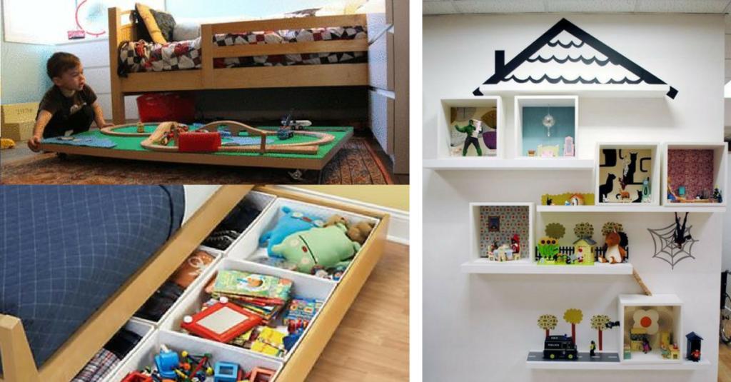 gdzie trzymać zabawki dziecka