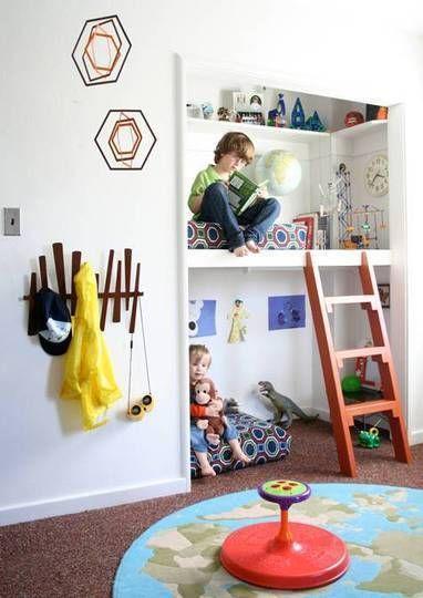 inspiracje pokoju przedszkolaka