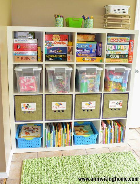 gdzie chować zabawki dziecka