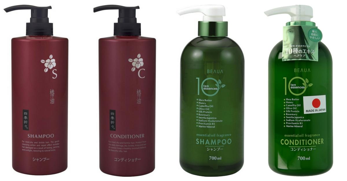 japońskie szampony i odżywki