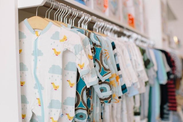 ubranka dla niemowląt - rodzaje