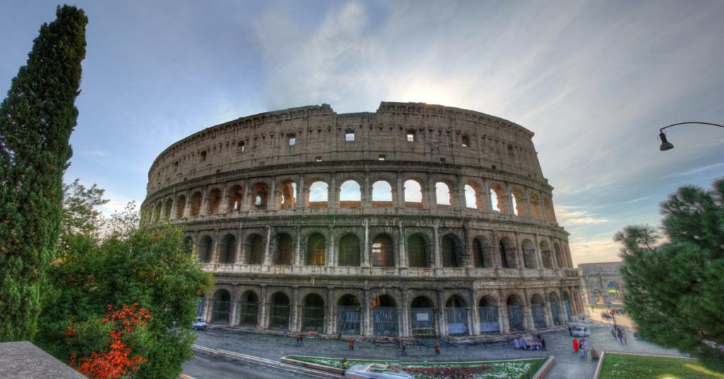 rzym w tydzień -pierwsza połowa pobytu