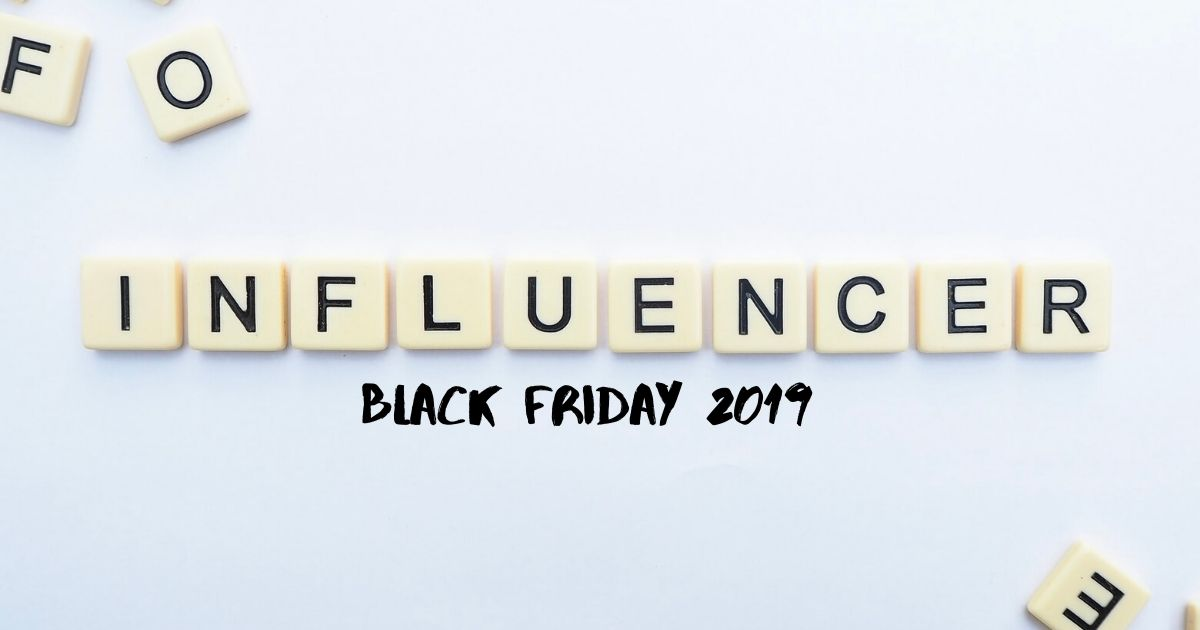 Black Friday - produkty blogerów
